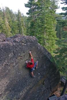 The Binder - Lake Tahoe Bouldering, California, USA. Click to Enlarge