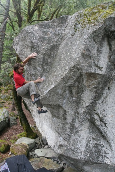 Matt Wilder on Changing Corners (V8).