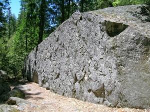 Presidential Boulder - Yosemite Valley Bouldering, CA, USA. Click to Enlarge