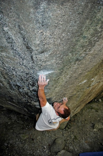 Matt Keebler on Atheletes Die Young (V5).