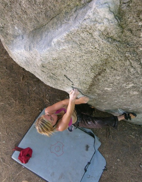Lisa Davidson on The Angler (V3).