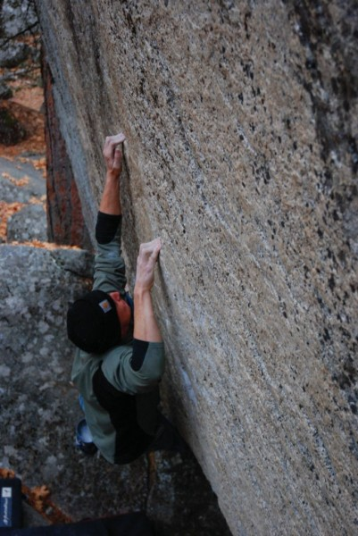 Paul Barraza on Drive On (V10).
