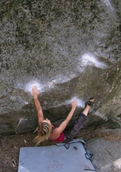 Ahwahnee Boulders - Central - Yosemite Valley Bouldering, CA, USA. Click to Enlarge