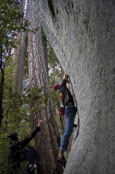 The Crystals - Yosemite Valley Bouldering, CA, USA. Click to Enlarge