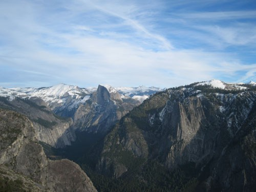 Half Dome From the summit of El Capitan