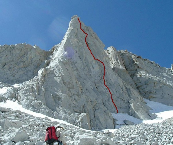 The North Buttress of Merriam Peak.