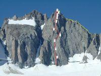 Starlight Peak - Pirates IV 5.10b - High Sierra, California USA. Click to Enlarge