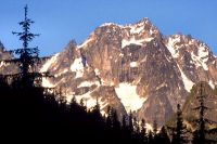 Mt. Stuart - Complete North Ridge IV 5.9 - North Cascades, Washington, USA. Click to Enlarge