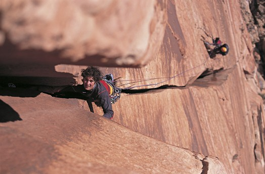 Renan Ozturk on the first ascent of Free Lhasa.