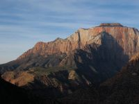 Beehives - Collard Greens and Chicken Wings 5.11+ - Zion National Park, Utah, USA. Click to Enlarge