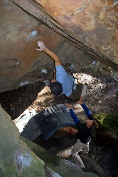 Aquarian Valley - Bay Area Bouldering, California, USA. Click to Enlarge