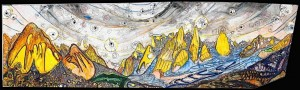 �High Himalaya� Mural of Complete Trango Group See http://rockmonkeyar...