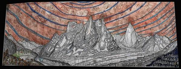 Shipton Geometrica, Pakistan Himalaya See http://rockmonkeyart.com/Shi...