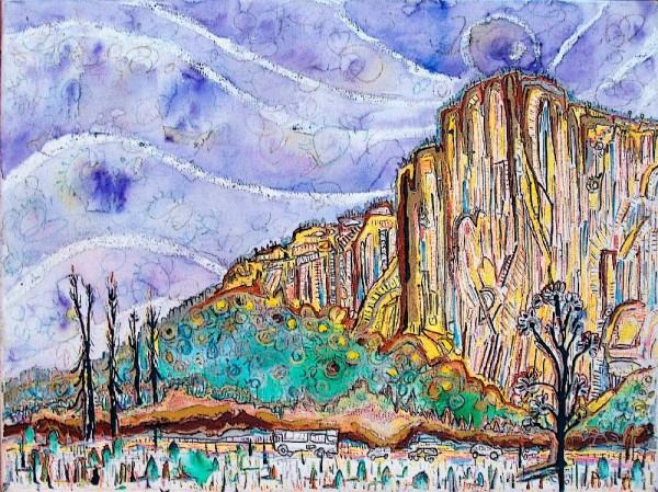 El Cap from meadow.