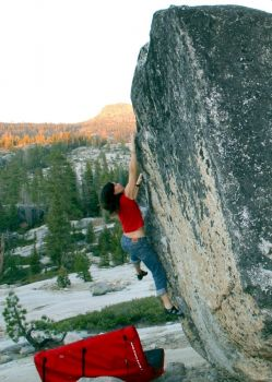 Loon Lake (The Loonies) - Northern California Bouldering, USA. Click to Enlarge