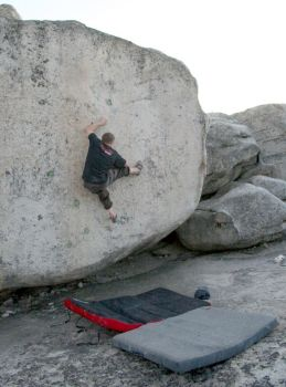 Bald Rock - Northern California Bouldering, USA. Click to Enlarge