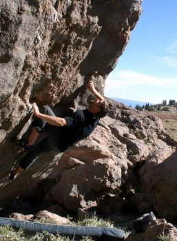 Mt Lassen, Eagle Peak - Northern California Bouldering, USA. Click to Enlarge