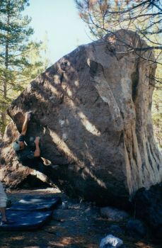 Mt Lassen, Devastated Area - Northern California Bouldering, USA. Click to Enlarge