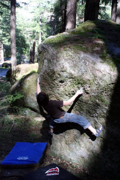 Andrew Zaslove does the Black Forest Arete.