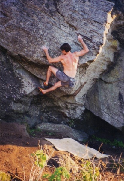 Shawn Rogers does his classic Dragonslayer V3! - circa 1990's (not...