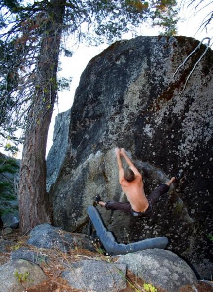 Little Big Mo - Big Meadow Boulder