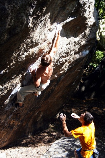 Kevin Jorgeson does Mission Impossible (V9)!