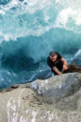 Travis doing Deep Water Solo #1 - Secrets