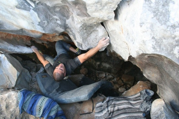 Ryan Smith on the (secret) Labyrinth Cave (V7)!