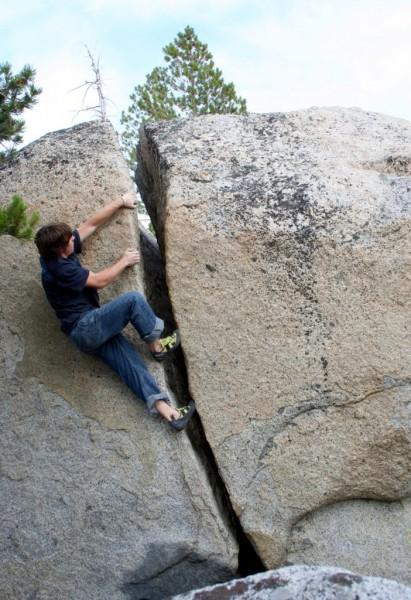 Andrew Zaslove does #4 V0 crack.