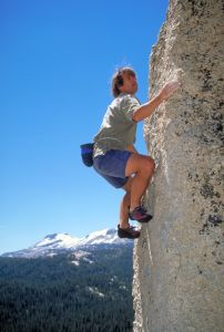Tenaya Lake Boulders - Tuolumne Bouldering, CA, USA. Click to Enlarge