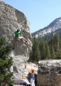 Tenaya West - Tuolumne Bouldering, CA, USA. Click to Enlarge