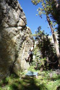 Medlicott Boulder - Tuolumne Bouldering, CA, USA. Click to Enlarge