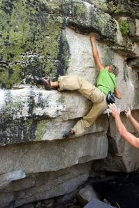 The Gunks - Tuolumne Bouldering, CA, USA. Click to Enlarge