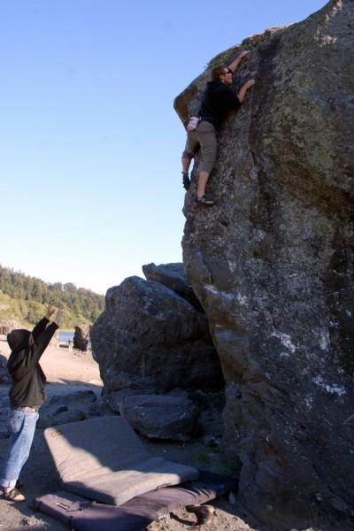 Craig Coolidge spots Ryan Camera on Flat Top