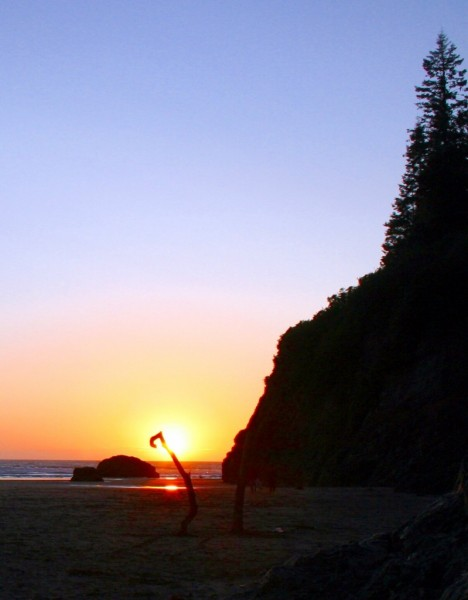 North Moonstone Sunset