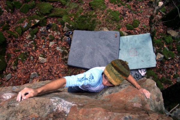 Chad - Hate V1, Canyon Trail Boulders