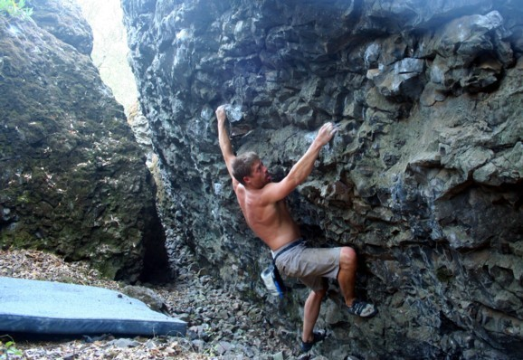 Heat Wave Traverse V4fa (115 degrees!!)