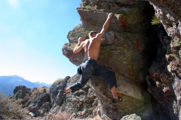 Big Chief Bouldering - V3/4 traverse