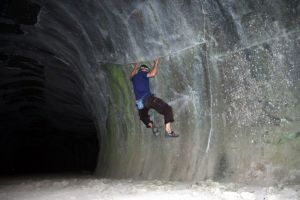 Lava Tubes - Northern California Bouldering, USA. Click to Enlarge