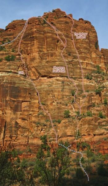 Organ Zion Climbing