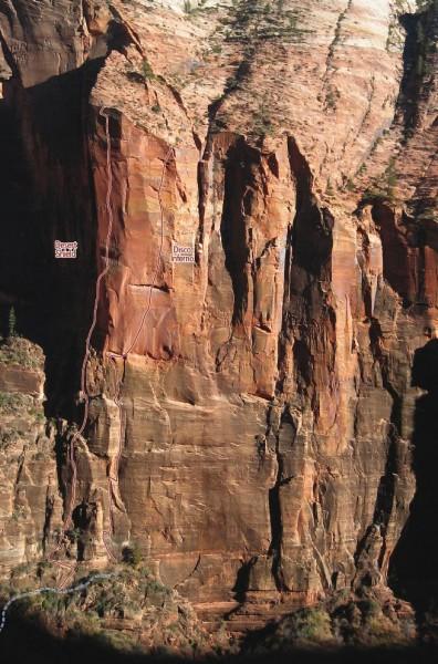 Desert Shield Zion Climbing