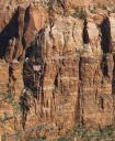 Carbuncle Buttress - Risk Management III 5.10+/11- A0 - Zion National Park, Utah, USA. Click for details.