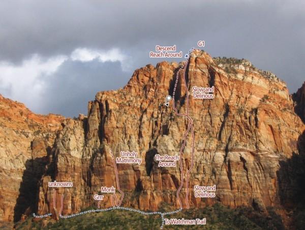 G1 Zion Climbing