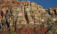 Mt. Allgood - Final Seconds II 5.9 - Zion National Park, Utah, USA. Click to Enlarge