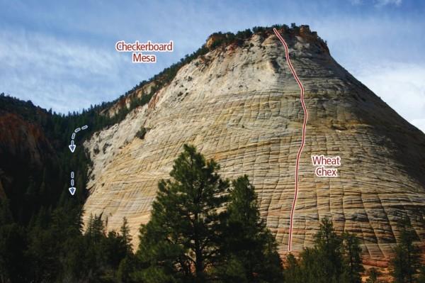Wheat Chex Zion Climbing