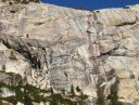 Mountaineers Dome - Happy Hour 5.10b R - Tuolumne Meadows, California USA. Click for details.