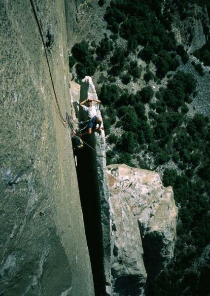 Kevin Thaw lounging on Texas Flake.