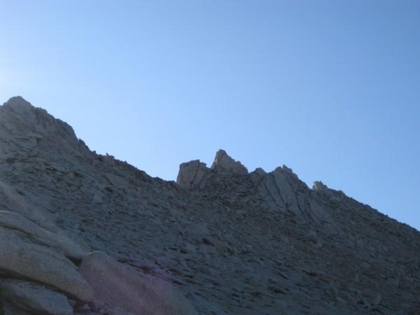 Summit plateau of Thor Peak