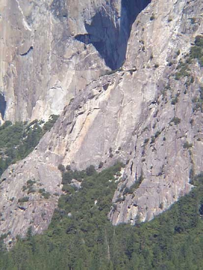 Moratorium with the Southeast Face of El Capitan in the background.