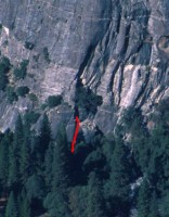 Church Bowl - Church Bowl Chimney 5.6 - Yosemite Valley, California USA. Click to Enlarge
